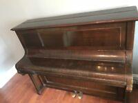 Kemmler upright piano