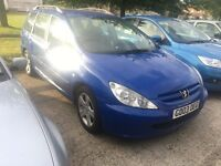 Peugeot 307 SW 2.0 HDi SE 5dr (Brilliant Runner, Bargain Dont Miss Out!)