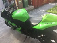 Kawasaki ZX-6R 599cc Good condition. Lime Green