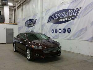2013 Ford Fusion Titanium W/ Sunroof, Heated Leather, Remote Srt