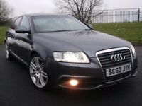 2011 AUDI A6 TDI S LINE *ONLY 77K* SAT NAV LEATHER!! LIKE 520D 530D A4 A8 Q7 330D XF INSIGNIA MONDEO