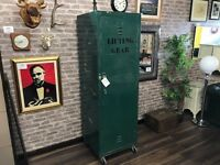 XL Industrial Metal Locker Cabinet