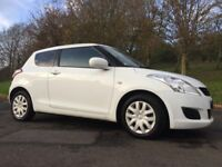LATE 2012 SUZUKI SWIFT 1.2 SZ2 ONLY 50K FINANCE & WARRANTY LOW INS & £30 TAX! fiesta,corsa,clio,ka
