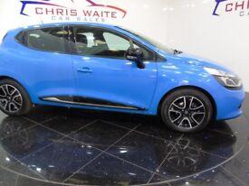 RENAULT CLIO DYNAMIQUE MEDIANAV (blue) 2014