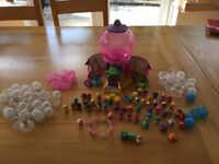 Squinkies gumball set and extras