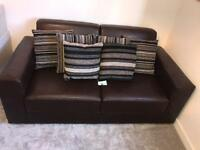 NEXT - Two Seater Sofa (With 6 FREE DFS Cushions)