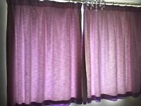 Next Curtains Lilac 168x137cm Fully lined