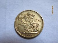 1891 Gold Sovereign Coin- Victoria Jubilee Head