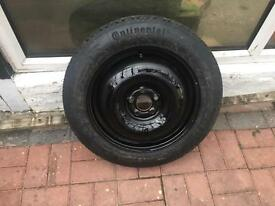 5x100 SpaceSaver Spare Wheel of Rover 75