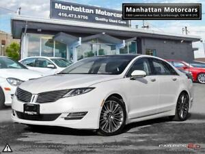 2013 LINCOLN MKZ AWD LUXURY PKG |NAV|CAMERA|PANO|BLINDSPOT|1OWNR