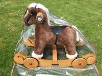 Mamas and papas 2 in 1 rocking horse