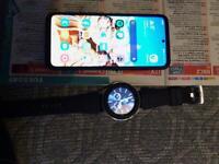 Samsung s20 5g ,Samsung galaxy watch 46 and earbuds