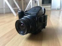 Zenza Bronica ETRS medium format camera with rare 50mm lens