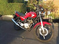 2009 Yamaha Ybr 125, Good condition with a years MOT
