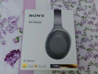Sony WH-1000XM2 Noise cancelling bluetooth headphones for sale