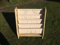 KidKraft sling bookshelf - cream
