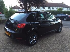 SEAT IBIZA I-TECH TSI 1.2 BLACK CAT D 14,000 REPAIRED PICTURES OF DAMAGE EXCELLENT CONDITION