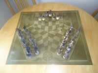 Eaglemoss Lord of the Rings chess set