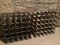 Large wine bottle racks storage unit £15