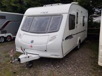 2009 Ace Jubilee Envoy 4 Berth Fixed Bed Lightweight Caravan with MOTOR MOVER