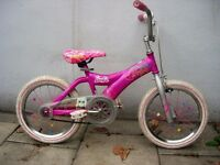Girls Barbie Bike, Pink, 16 inch Wheels for Kids 5+ Years, Good Condition,JUST SERVICED/CHEAP PRICE!