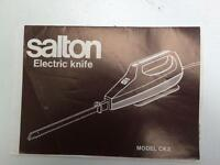Electric kitchen knife.