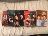 Seasons 1-7 two and a half men