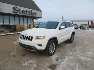 2016 Jeep Grand Cherokee LIMITED LEATHER! SUNROOF! COMMAND START