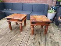 Jali side tables