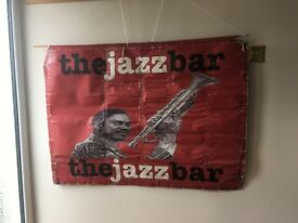 Original Sign for The Jazz Bar in Edinburgh