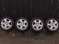 Vauxhall wheels for vectra zafira signum