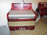 Hohnor accordion like new, C Sharp D Tunning £350