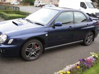 Subaru impreza wrx low miles