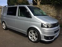 VW T5 CAMPERVAN, BRAND NEW CONVERSION, FULL SERVICE HISTORY, READY TO TAKE CAMPING, AIR CON