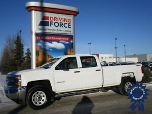 2015 Chevrolet Silverado 3500HD Crew Cab 4X4 w/8' Box, 6.0L Gas