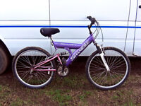 """26"""" WHEEL FULL SUSPENSION MOUNTAIN BIKE FULLY CHECKED AND READY TO GO"""
