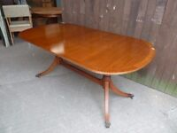 Large Dining table Pull and Lock To Extend No Chairs Delivery available