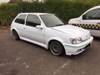 ford fiesta rs turbo replica,modified,with rs turbo conversion,mint car,£4000,no offers