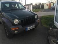 02 Jeep Cherokee (spares or repairs)