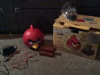 Angry Bird Speaker with box for smartphones/ipods