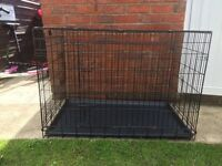 "Large dog crate cage 41"" x 26"" x 29"""