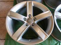"17"" Genuine RONAL Audi Alloys Brand New 5x112pcd Seat Skoda Volkswagen Alloy Wheels Rims"