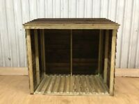 Log shed WITH A FREE BAG OF COAL 25KG