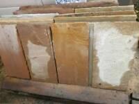 Natural Paving Indian Sandstone buff 6.75 sq meter