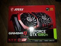 MSI Gaming X Geforce GTX 1080ti 11gb DDR5x