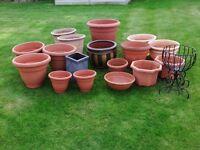 Assortment of Garden Planters