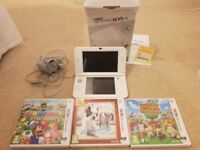 Nintendo 3ds xl plus 3 games