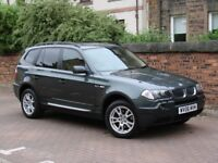 FINANCE AVAILABLE!! 2006 BMW X3 2.0 20d SE 5dr, AWD, 4X4, FULL LEATHER, 1 YEAR MOT, AA WARRANTY