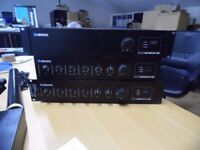2 x ADASTRA MIXER AMPS 120W ( 100V LINE AMPS) PLUS SLAVE AMP 120W