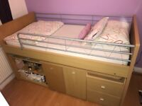 Dreams Hampshire Cabin Bed and Mattress